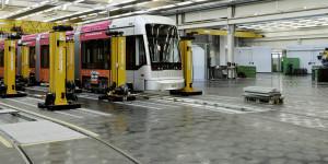 Grazer Linien        Hauptwerkstatt Steyrergasse        2012